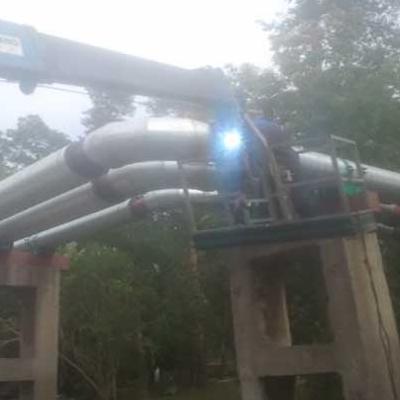 Рсо-18, Металлоконструкции, трубопроводы